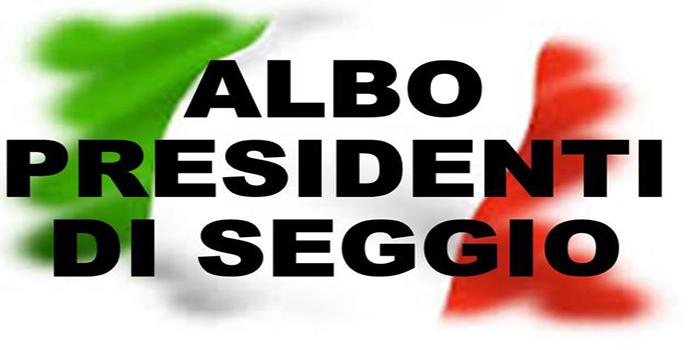 Albo Presidenti Seggio