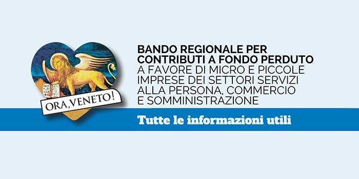 Ora Veneto Banco Contributi A Fondo Perduto